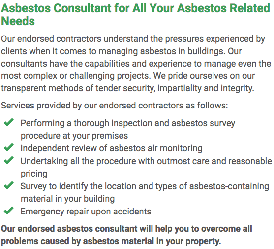 Asbestos Watch Ballarat - consultant right
