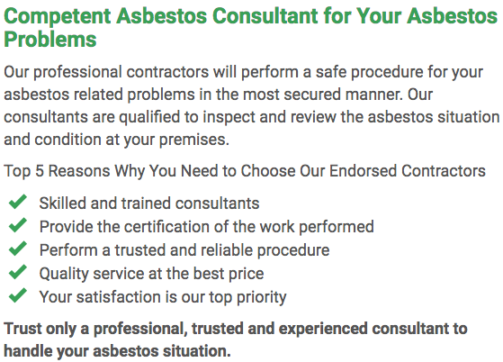 Asbestos Watch Ballarat - consultan left